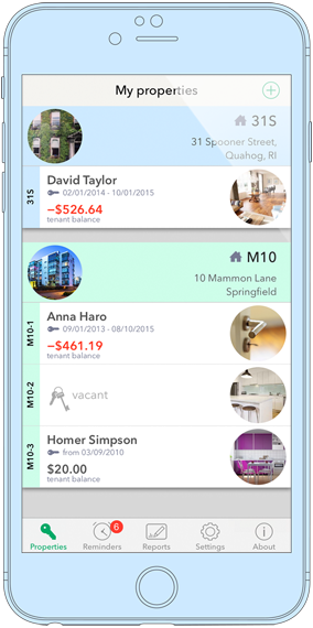 Landlordy : iPhone/iPad app for self-managing landlords
