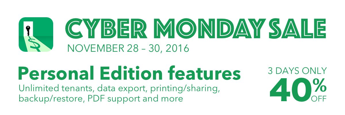 Landlordy Cyber Monday Sale 2016